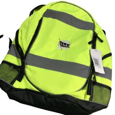 ILA Safety Back Pack with Reflective Stripes